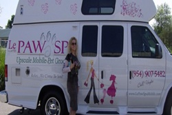 le paw spa and mobile grooming for cats and dogs, pet friendly boarding and grooming in ft lauderdale florida